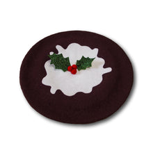 Load image into Gallery viewer, Christmas Pud Beret
