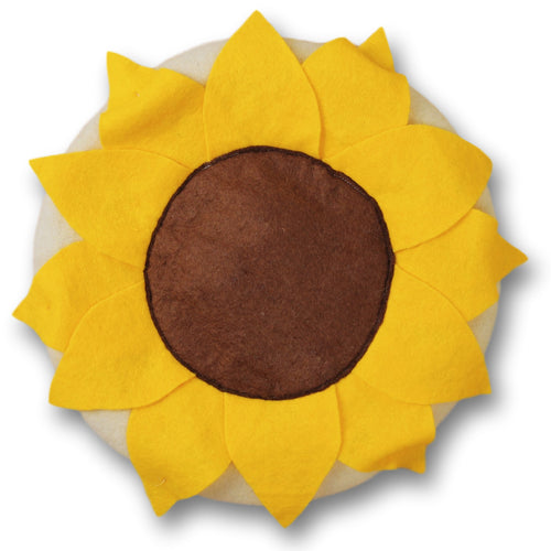 Sunflower Beret