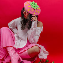 Load image into Gallery viewer, Pink Strawberry Beret