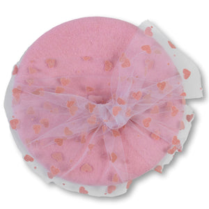 You're Tulle Sweet Beret in Pink
