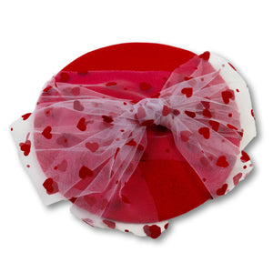 You're Tulle Sweet Beret in Red