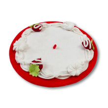 Load image into Gallery viewer, Red Velvet Cake Beret