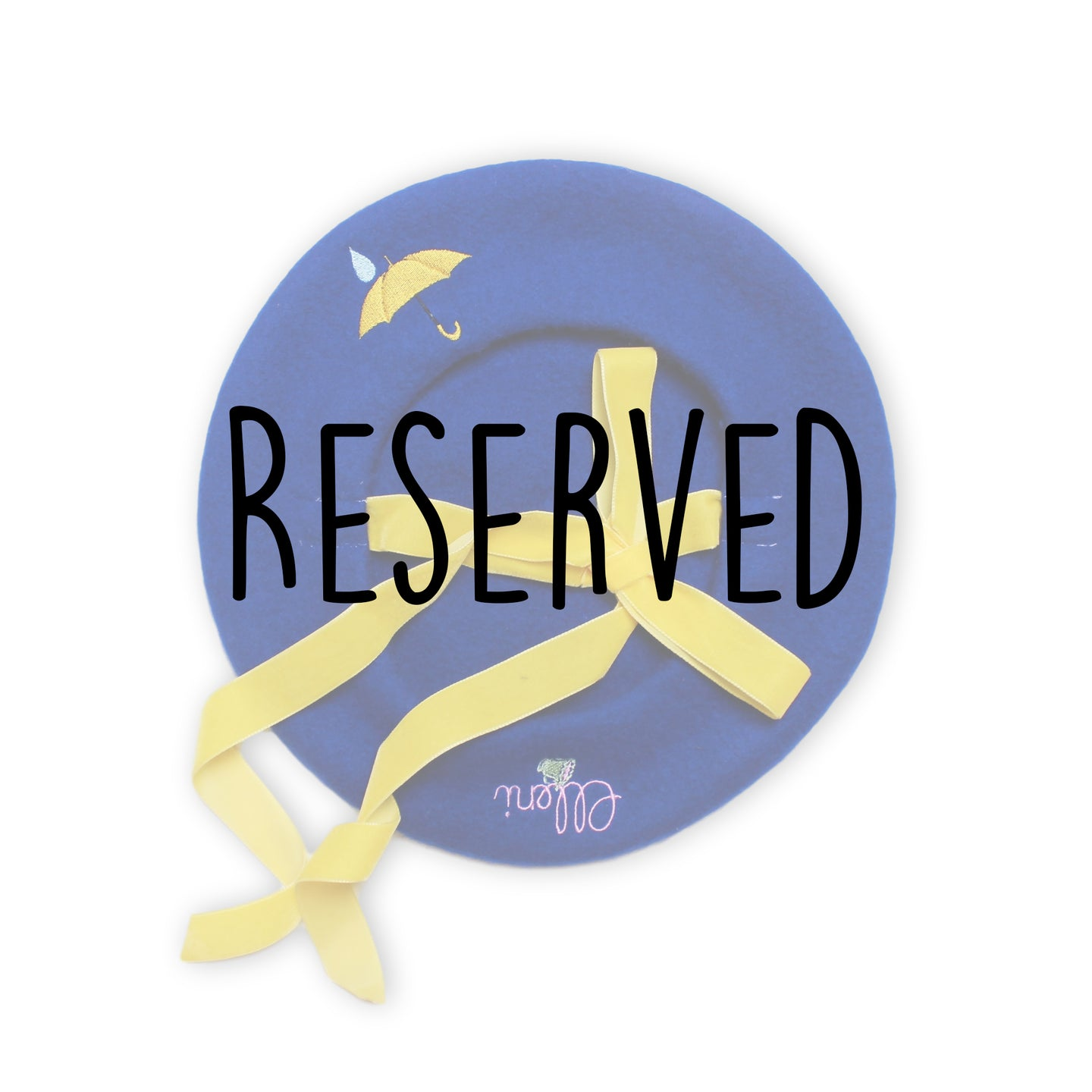 Reserved for Abby