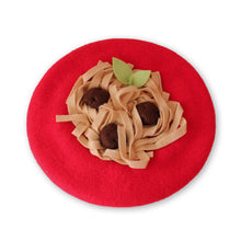 Load image into Gallery viewer, Spaghetti & Meatballs Beret