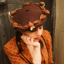Load image into Gallery viewer, Chocolate Cake Beret