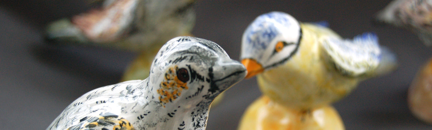 Earthenware Birds, Animals & Fish