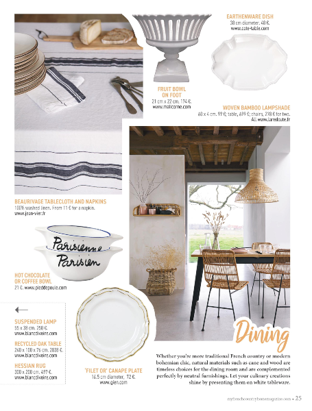 My French Country Home Magazine - May / June 2020