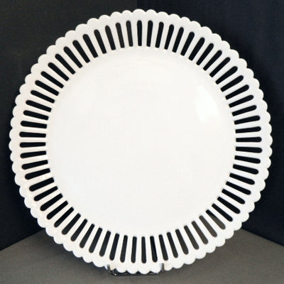 Openwork Large Bourg-Joly serving plate