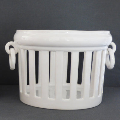 Earthenware Openwork Empire planter without interior