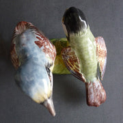 Earthenware Nuthatch and Tit