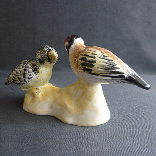Earthenware Goldfinch and Tarin