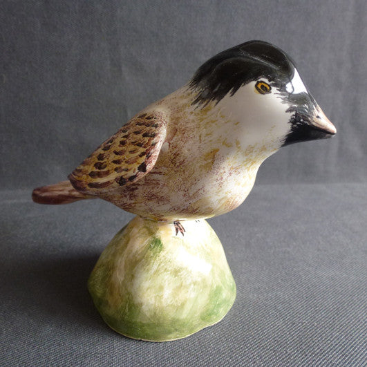 Earthenware Coal Tit
