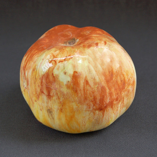 Earthenware Red and Yellow Apple