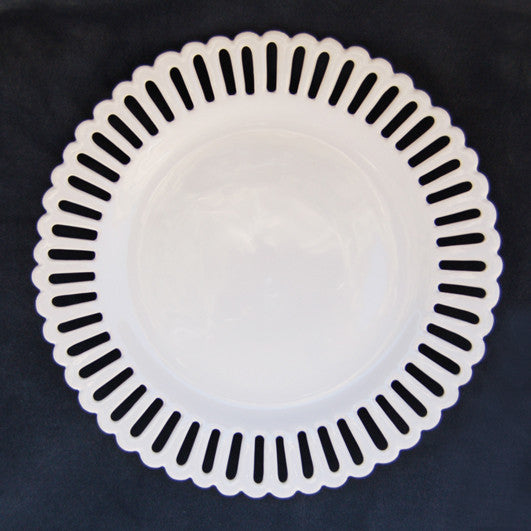 Openwork Bourg-Joly plate