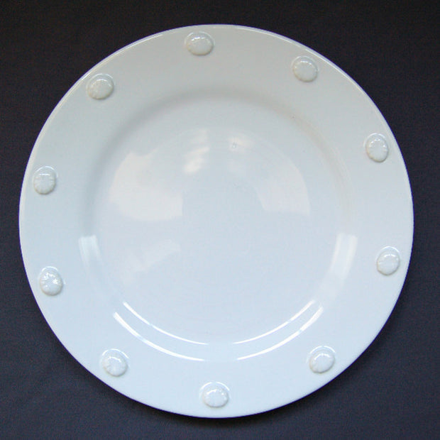 Bord Uni plate with Pastille motif