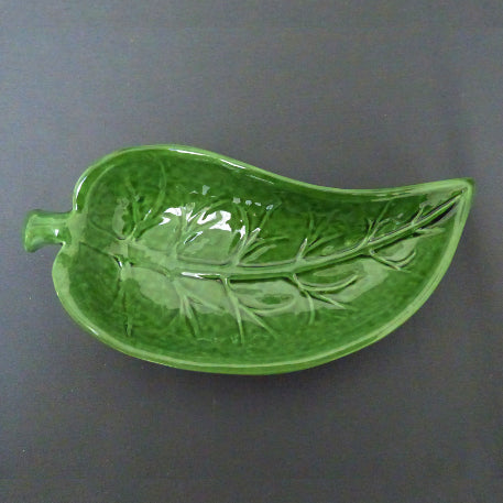 Feuille en courbe small shallow dish