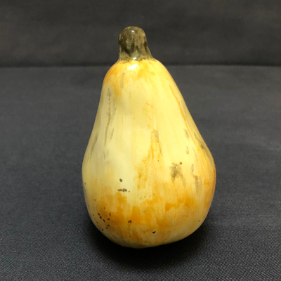 Earthenware Yellow Pear