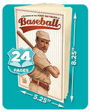 Know It All Baseball KardLet - 24 Pages & Dimensions
