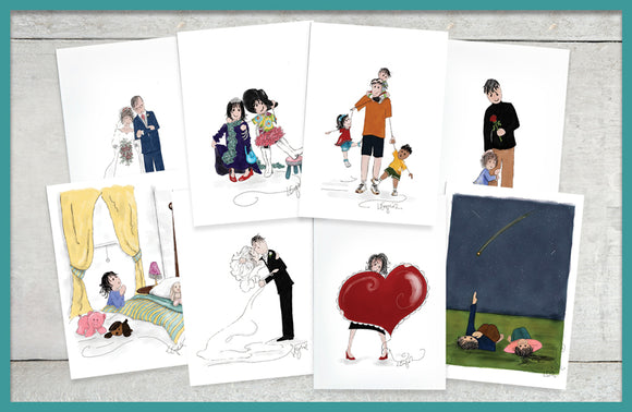 SIMPLE MOMENT GREETING CARDS