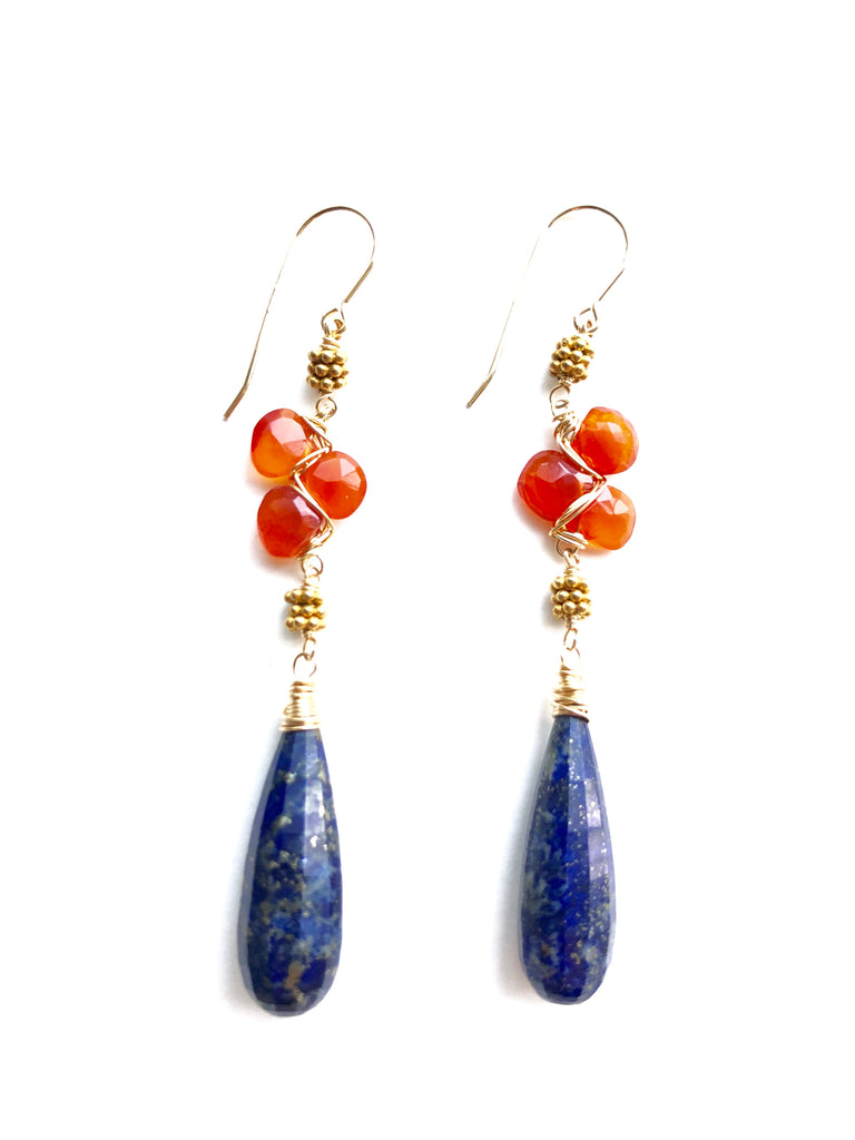 Carnelian and Lapis