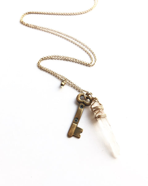 One-of-a-kind Key Necklace