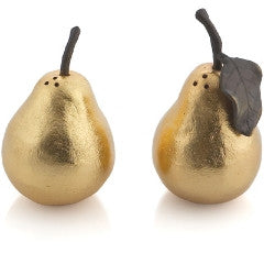 Michael Aram Gold Pear Salt & Pepper