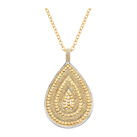 Signature Teardrop Pendant Necklace