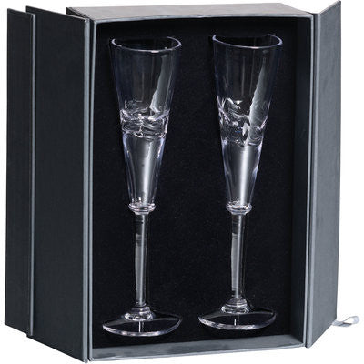 Simon Pearce PURE Middlebury Flute Gift Set