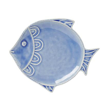 Juliska Delft Blue Fish Dessert/Salad Plate