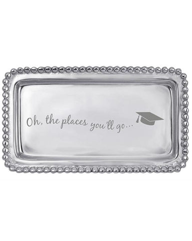"Mariposa ""Oh, the places you'll go"" Tray"