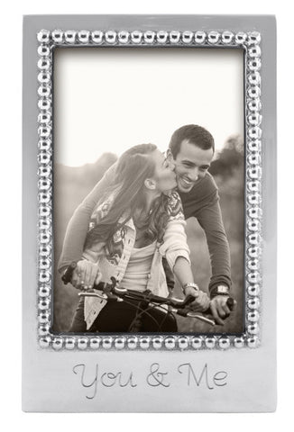 "Mariposa ""You & Me"" Frame, 4"" x 6"""