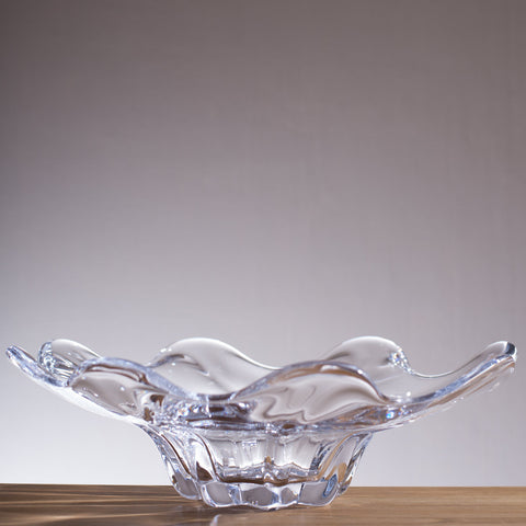 Simon Pearce Chelsea Optic Low Bowl