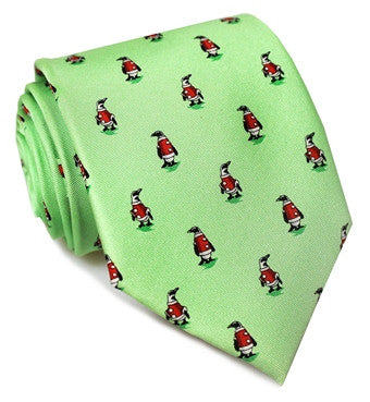 Bird Dog Bay North Pole Parade Tie
