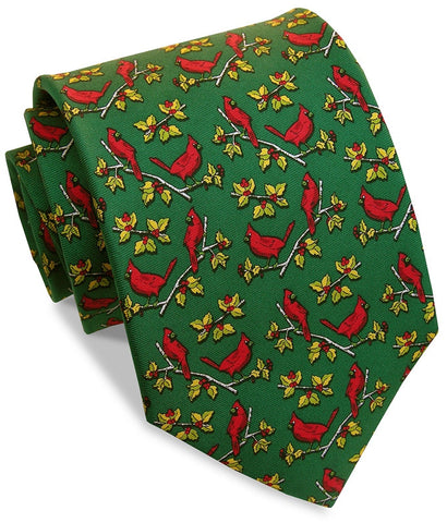 Bird Dog Bay Cardinal Calling Tie