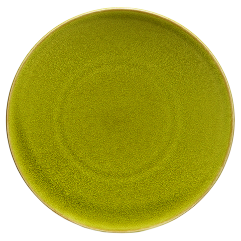Jars Tourron Dinner Plate, Avocado