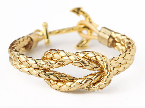Kiel James Patrick The Fortunate Sailor Anchor Bracelet