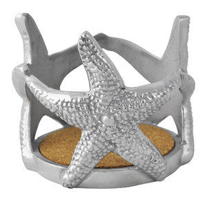 Mariposa Starfish Wine Cozy/Candle Holder