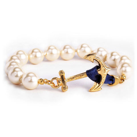 KJP Anchor Atlantic Pearl Bracelet