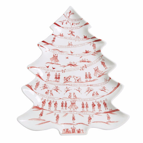 Juliska 12 Days of Christmas Tree Platter