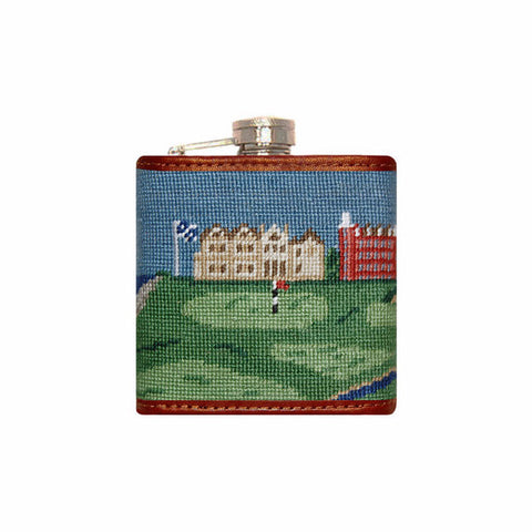 Smathers & Branson Old Course Scene Flask