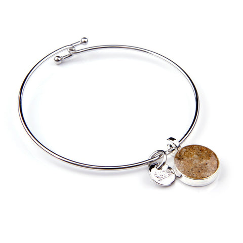 Fenway Park Infield Sand Bangle Bracelet