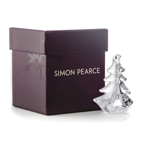 Simon Pearce Vermont Evergreen Ornament