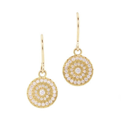 Adel Chefridi Diamond Star Earrings
