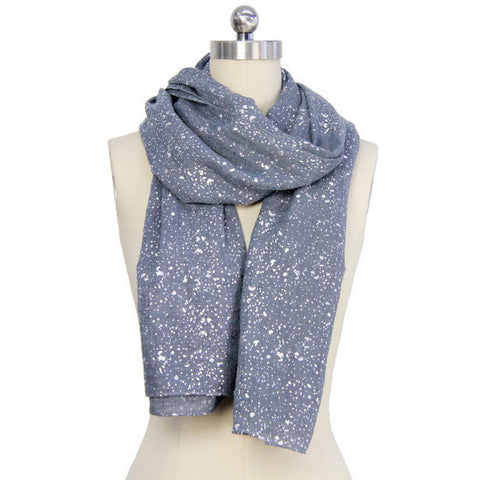 Sparkle Scarf - Silver