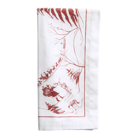 Juliska Country Estate Christmas Napkin Set of 4
