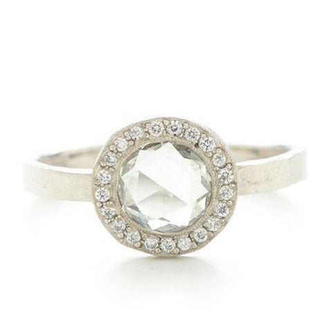 Jennifer Dawes Lux Round Diamond Ring