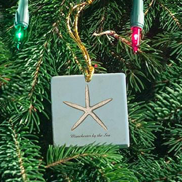 Starfish Manchester by the Sea Ornament
