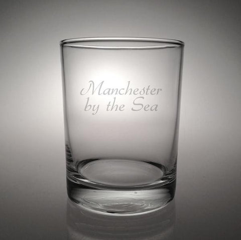 Manchester by the Sea Double Old Fashioned Glass