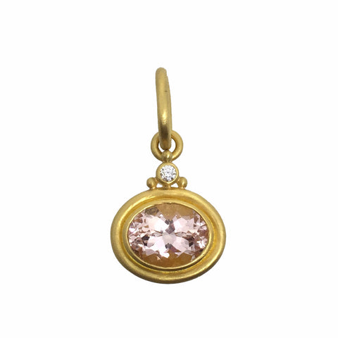 Denise Betesh Morganite Pendant