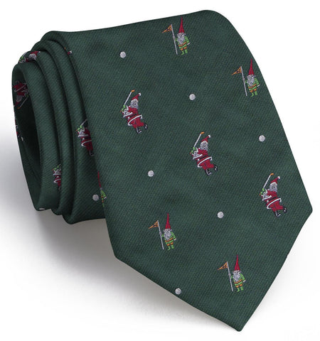 Swingin' Santa English Woven Pedigree Tie
